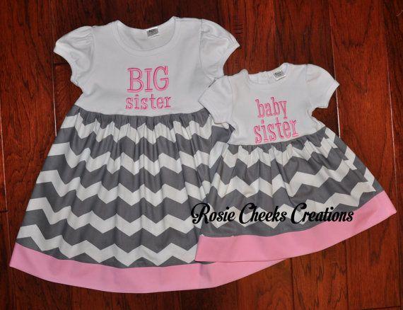 4a381ad915959 Big Sister Little Sister Matching Dresses by RosieCheeksCreations ...