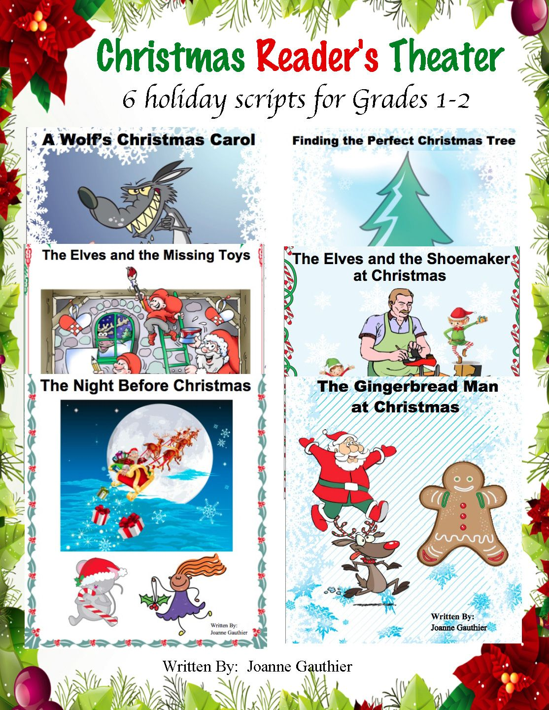 Christmas Plays Readers Theater For Grades 1 And 2 With