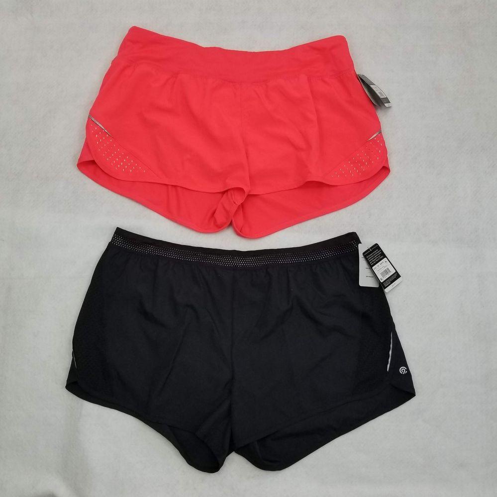 Set Of 2 Champion C9 Shorts Women's Duo Dry Inner Brief