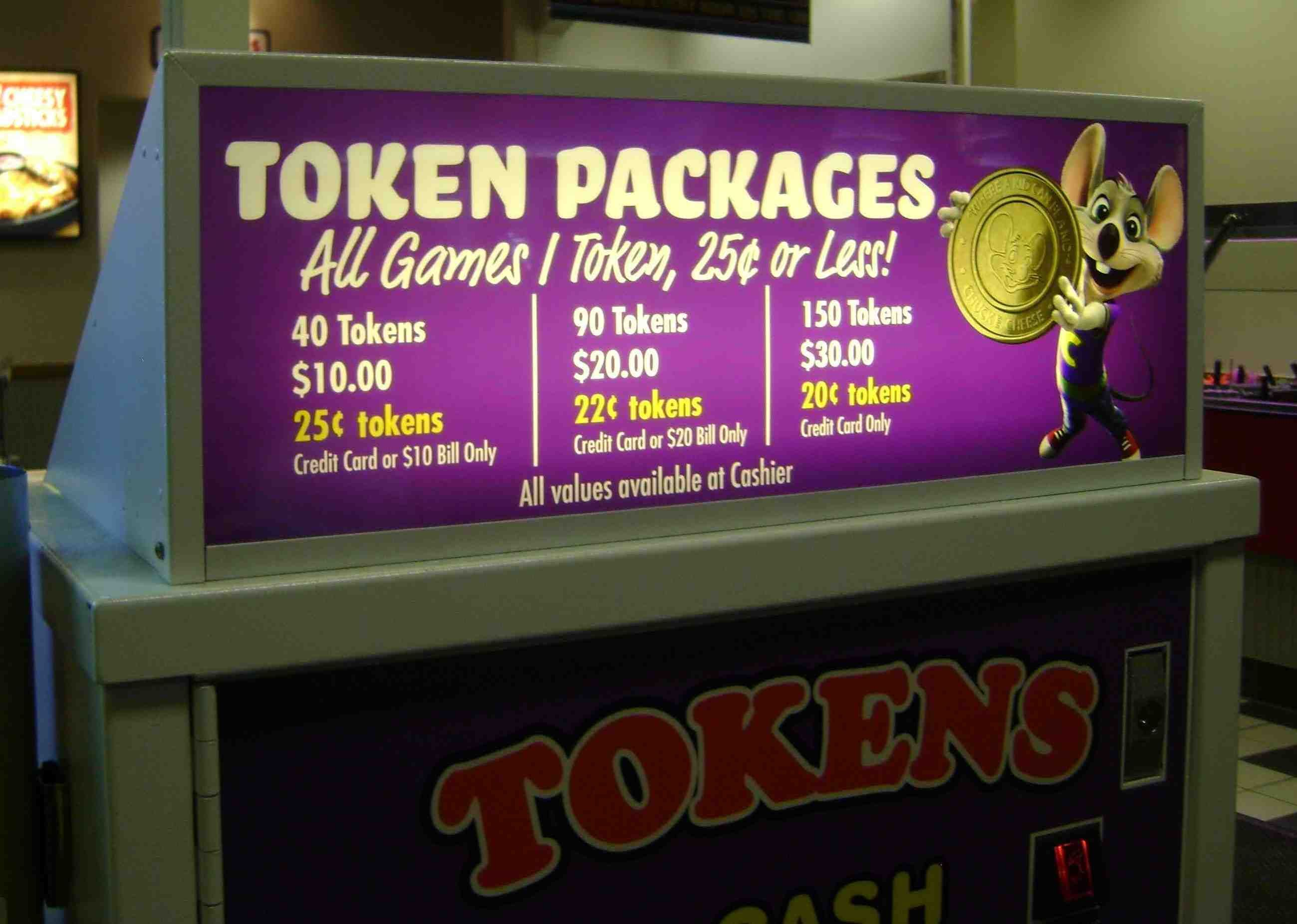 Check Out Our Token Packages