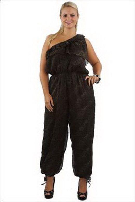 Black Plus Size Jumpsuits For Women Cute Cute Plus Size Curvy