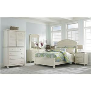 Broyhill Furniture Seabrooke Queen Panel Bed | Baeru0027s Furniture | Headboard  U0026 Footboard Boca Raton,