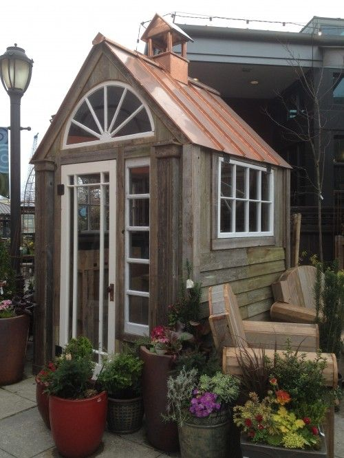 Garden Sheds Seattle sweet garden shed & inspiration collage | copper roof, seattle and