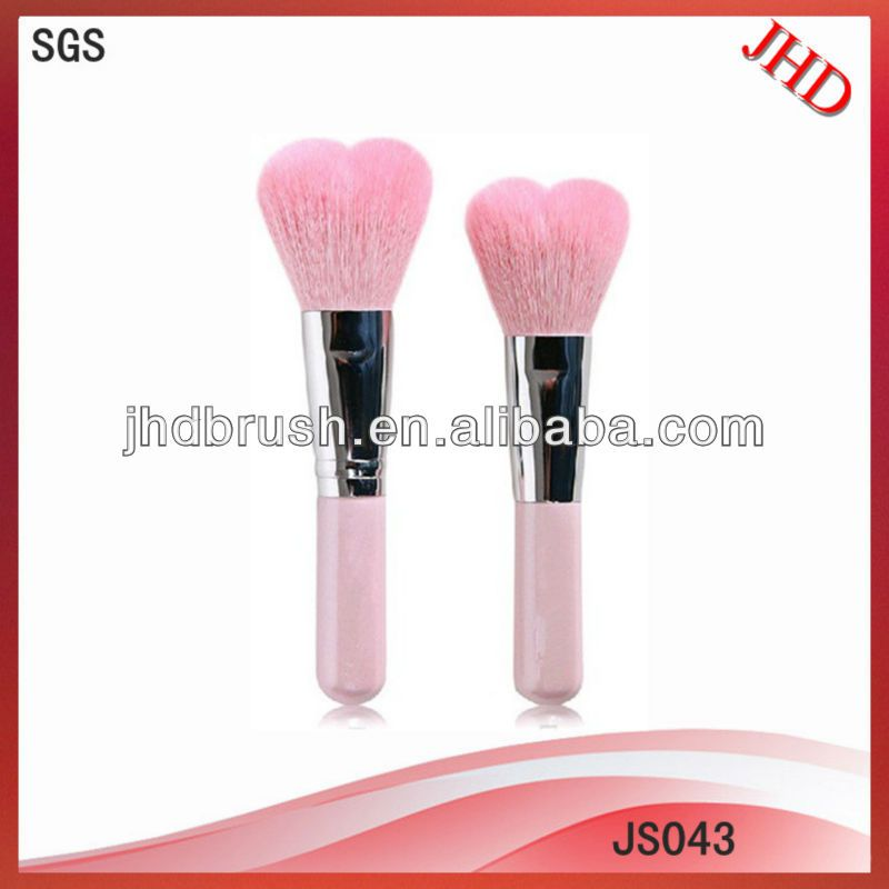 Heart Shape Makeup Brush 1 Fashional Heart Makeup Brush Style 2 Low Moq 3 Oem 4 No Stimulation No Bacteria Cosmetic Tools Makeup Brushes Makeup