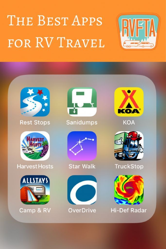 The Best RV Travel Apps from RV Family Travel Atlas