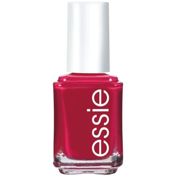 Essie Plumberry Nail Color ($9) ❤ liked on Polyvore featuring beauty products, nail care, nail polish, essie, nails, plumberry, essie nail polish and essie nail color