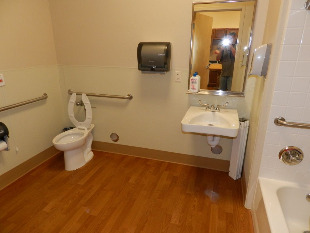 Small Commercial Bathroom Ideas On A Budget Bathroom Noticeable White And Wooden Small Bat Small Bathroom Renovations Small Bathroom Renovation Bathroom Redo