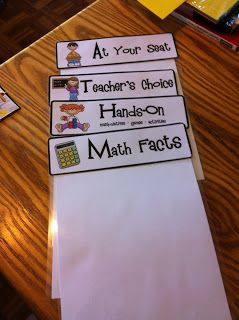 Fun in Fourth Grade: Math Rotations