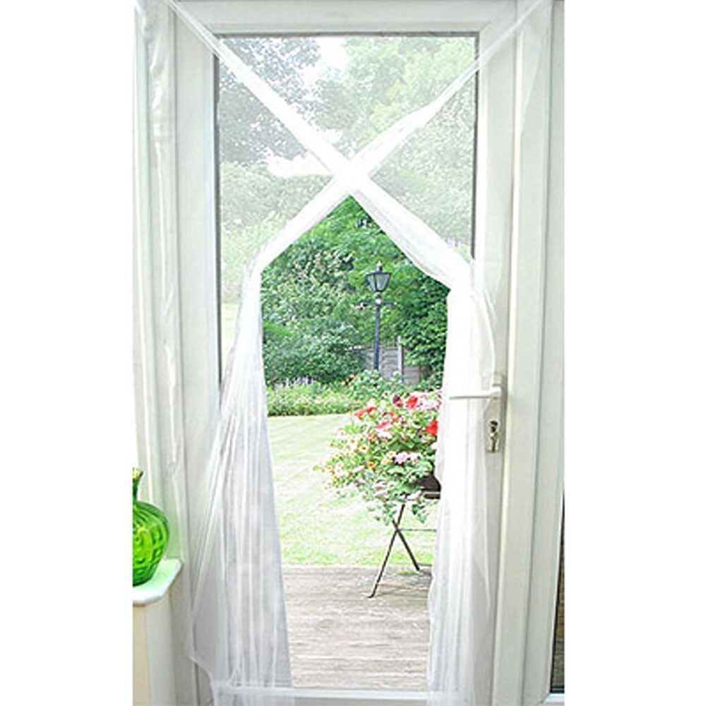 Door Screen Netting New Curtain Window Insects Fly Mosquito New By