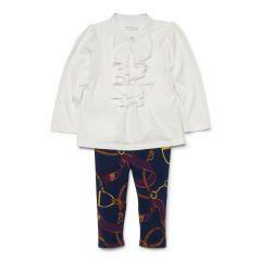 Ruffled Top & Legging Set - Baby Girl Outfits & Gift Sets - RalphLauren.com
