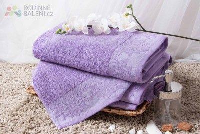Froté osuška ELEN - fialová 70x140 cm (Froté osušky standard) -  Rádi si dáváte voňavou koupel? Kté vám postačí kvalitní mýdlo aheboučká osuška. Pokud sázíte na