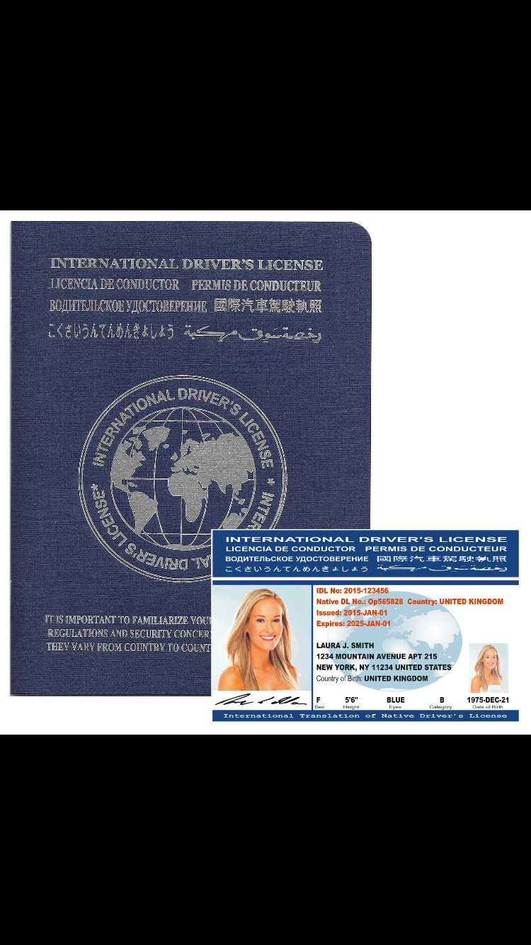 International Driver S License By Idl Travel Starting At 25