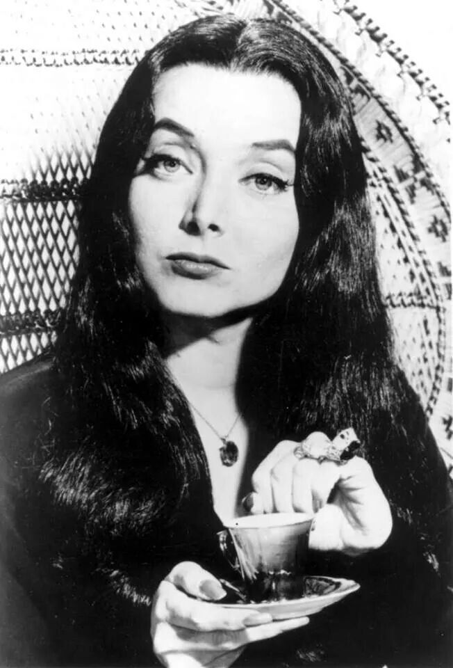 Mrs. ADAMS O.G. | Carolyn jones, Morticia addams, Addams family