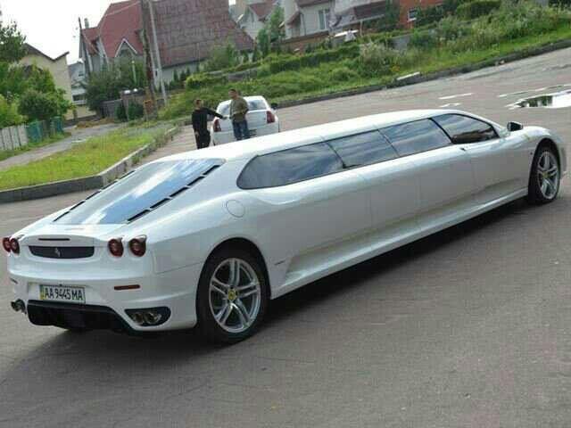 Ferrari Limousine Limousine Car Ferrari Car Fantasy Cars