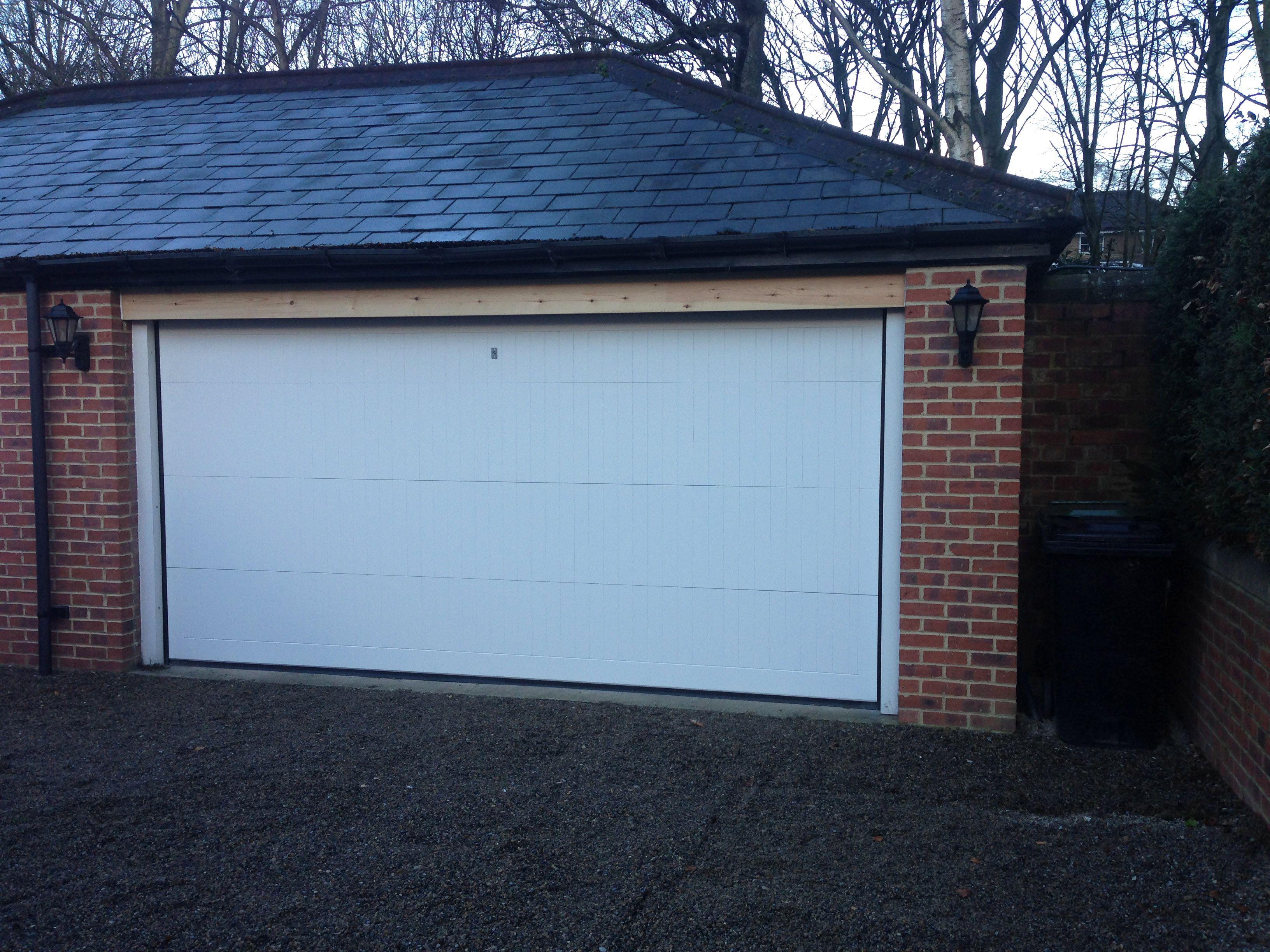 Cedar Wood Made To Measure Warwick Design Sectional Garage Door