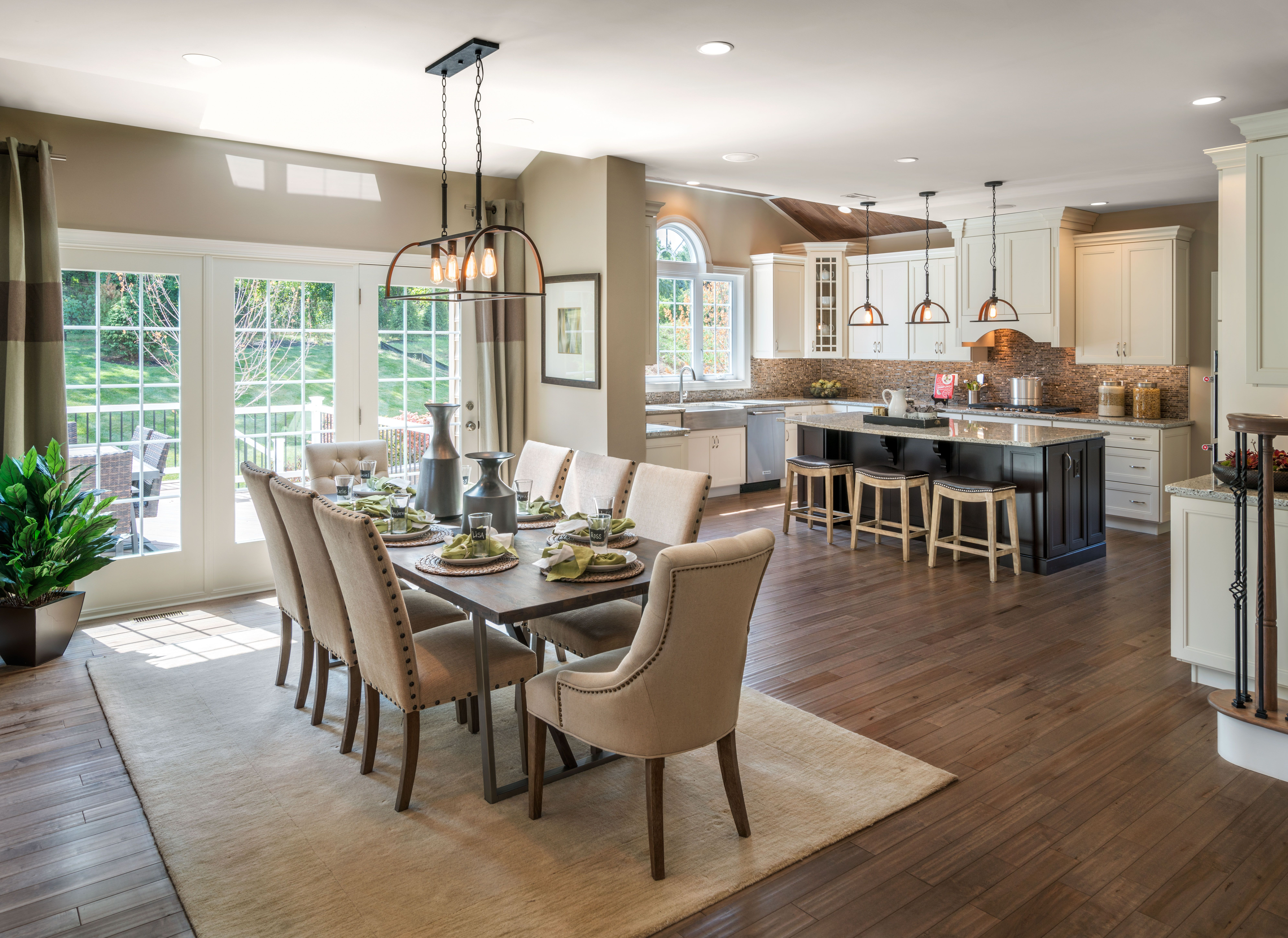 Best Trestle Collection Shown Toll Brothers Possibilities For Design Open Concept Kitchen Living 400 x 300