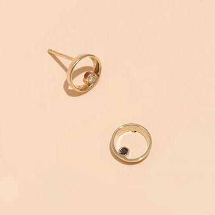 Madewell+-+Madewell+x+Still+House™+14k+Gold+Lapé+Diamond+Earrings