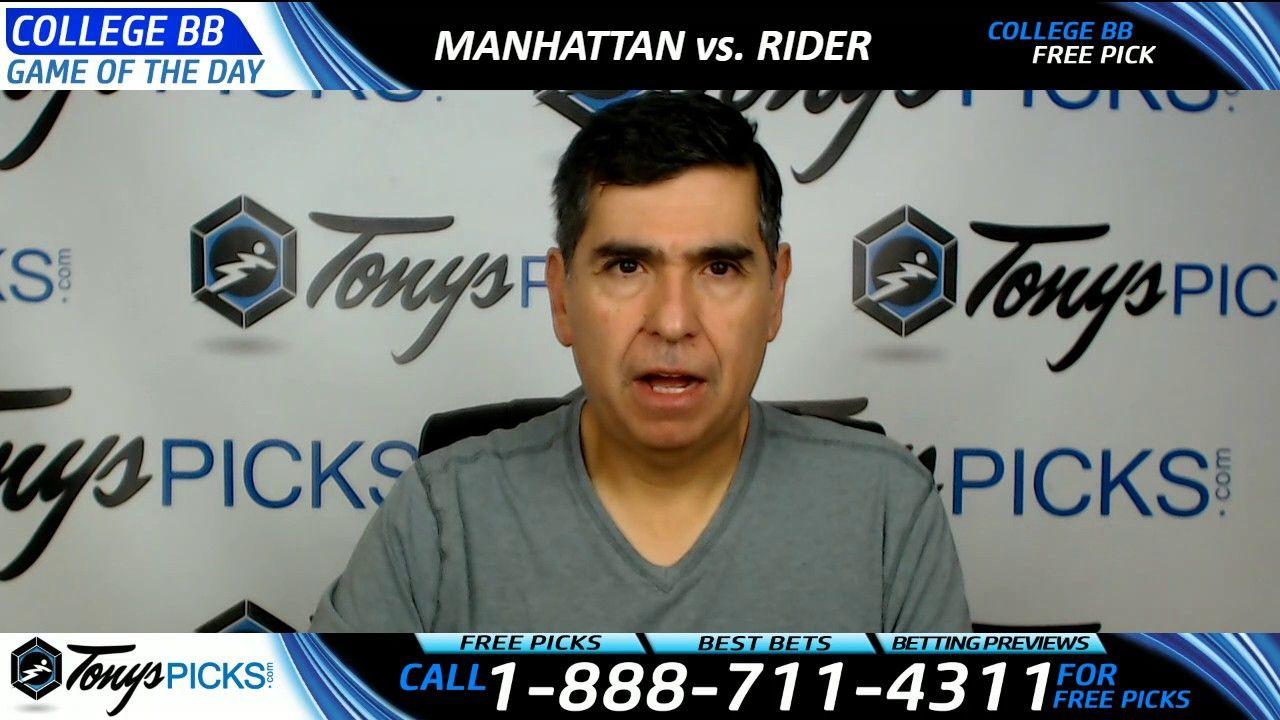 Manhattan vs. Rider Free NCAA Basketball Picks and