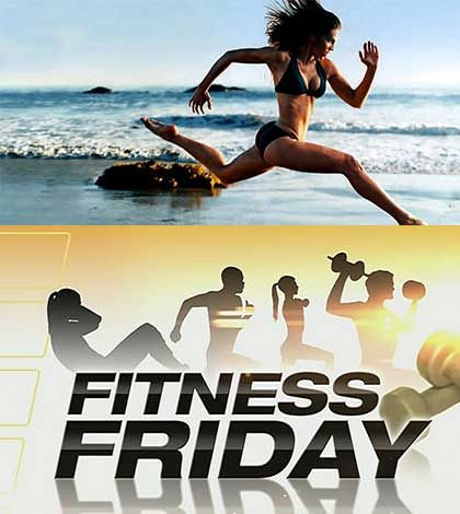 Fitness Friday has your Vacation Workouts planned #fitness