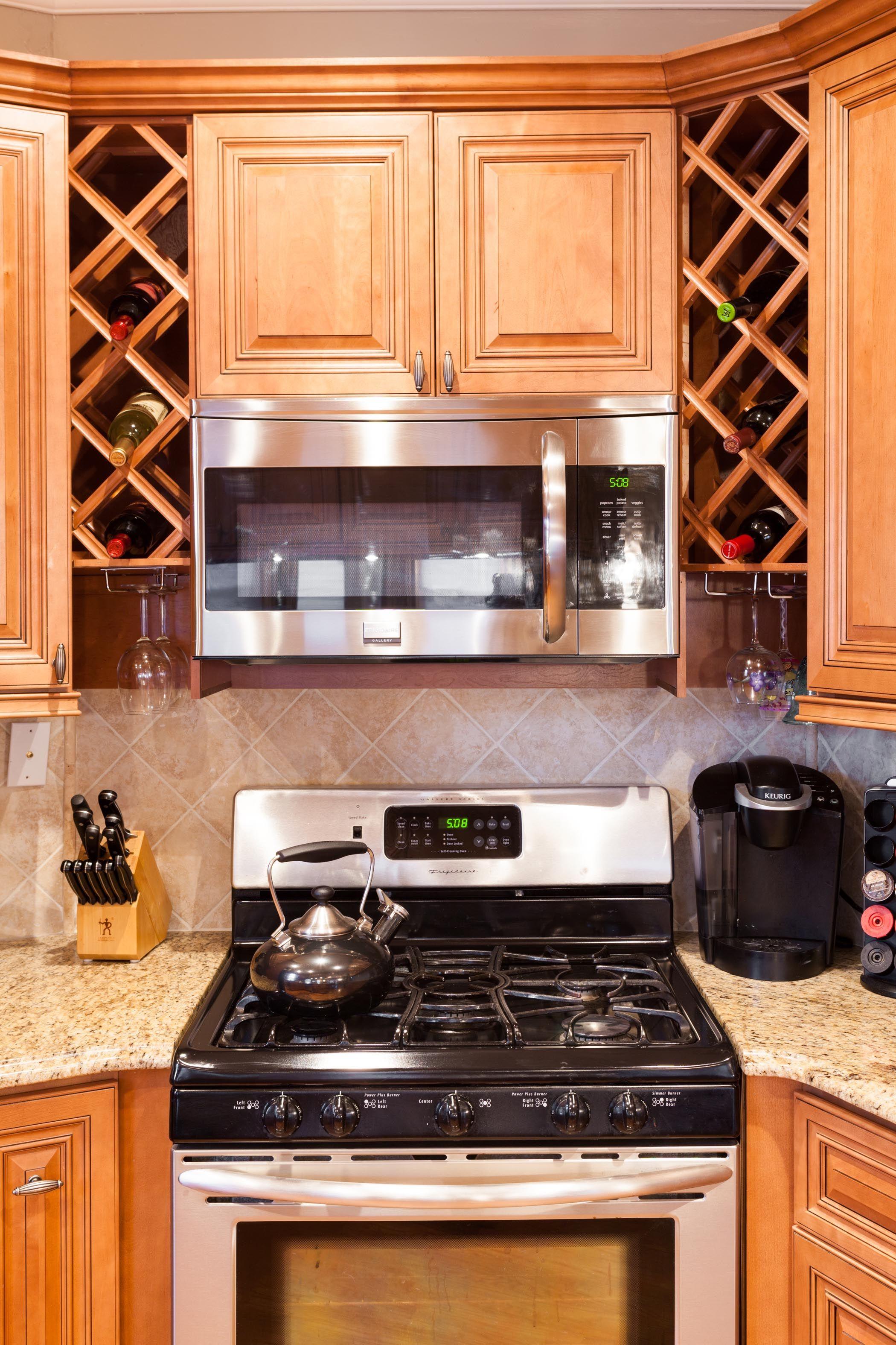 Best J K Traditional Maple Wood Cabinets In Cinnamon Glaze 640 x 480