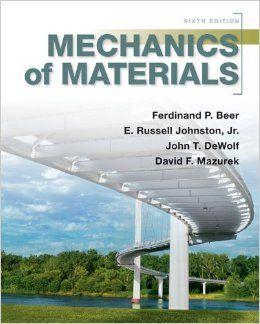 rc hibbeler mechanics of materials 9th edition solution manual pdf