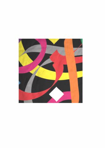Mens Cotton Pocket Square - violet dots by VIDA VIDA UCOnRQdB