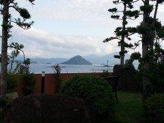 上天草市江樋戸港付近で高杢島の風景が目にとまりシャッターをおしました