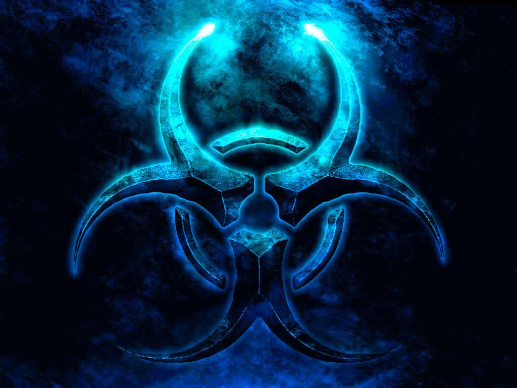 Biohazard With Images Biohazard Symbol Android Wallpaper