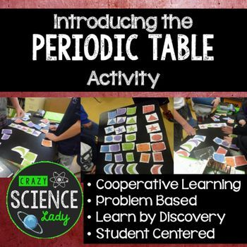 the single greatest activity for introducing the patterns in the periodic table check out the - Periodic Table Discovery Activity