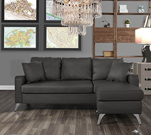 Strange Divano Roma Furniture Bonded Leather Sectional Sofa Small Cjindustries Chair Design For Home Cjindustriesco