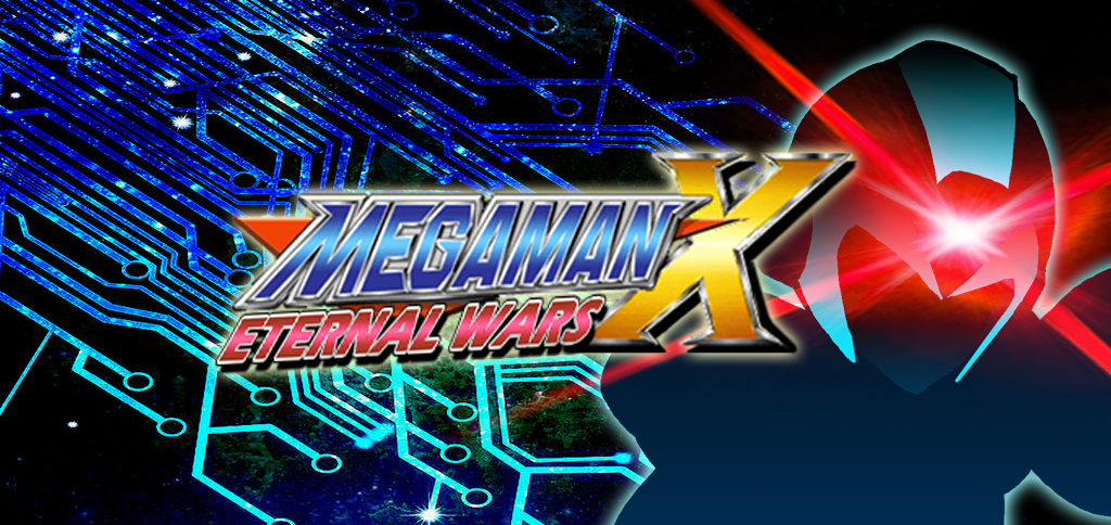 Megaman X Eternal Wars X By Megahx War Eternity Neon Signs