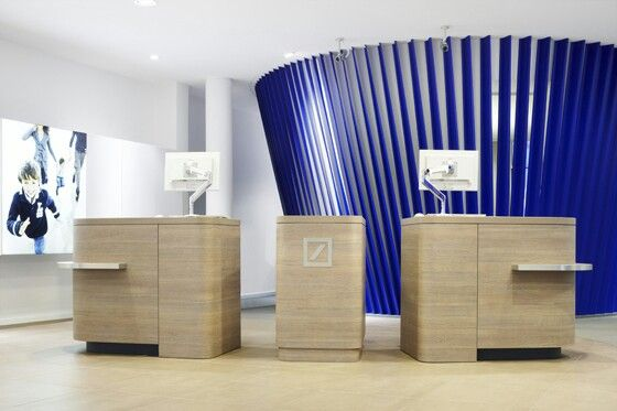 Deutsche Bank's redesign of its branches across Europe
