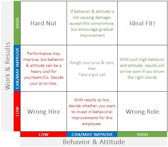 Management  A foolproof performance appraisal matrix for startup