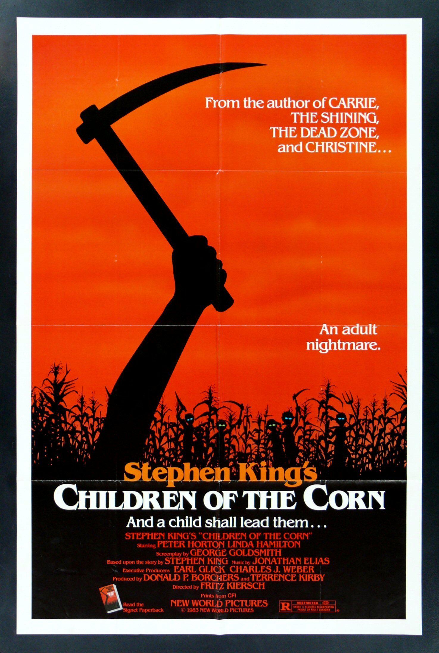 Childrenjan11 Jpg Jpeg Image 1474x2192 Pixels Scaled 32 Stephen King Movies Best Horror Movies Horror Movie Posters