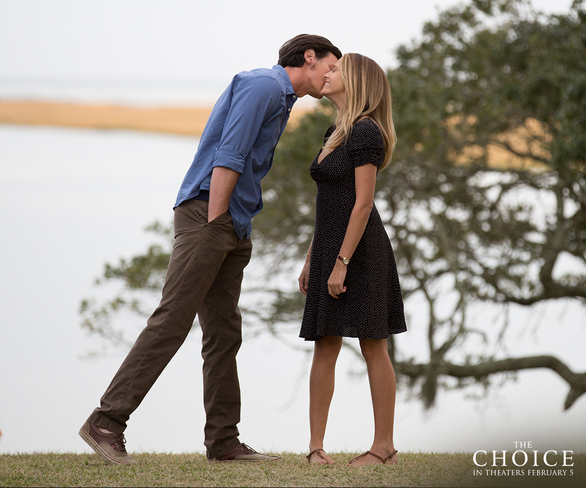And just like that, they'd fallen in love. #ChooseLove #TheChoice