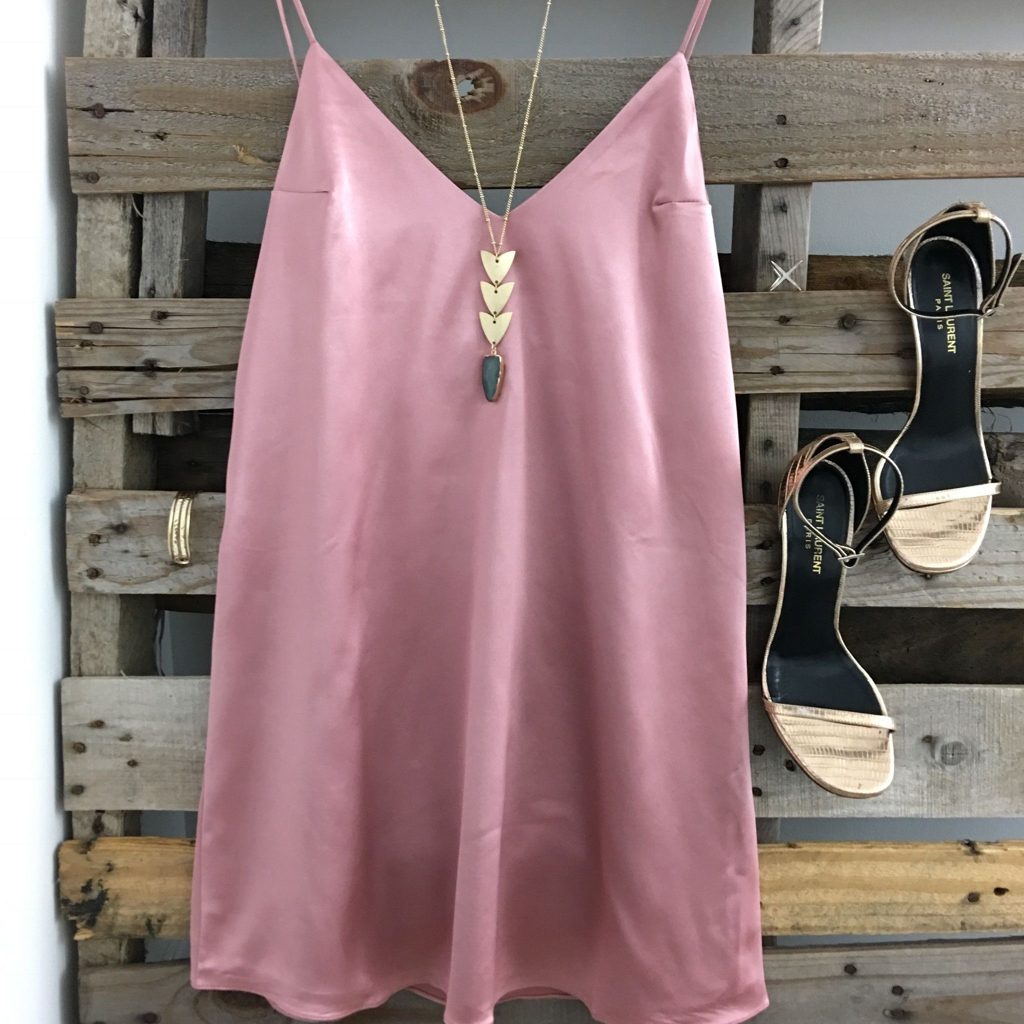 Zaya Blush Mini Dress