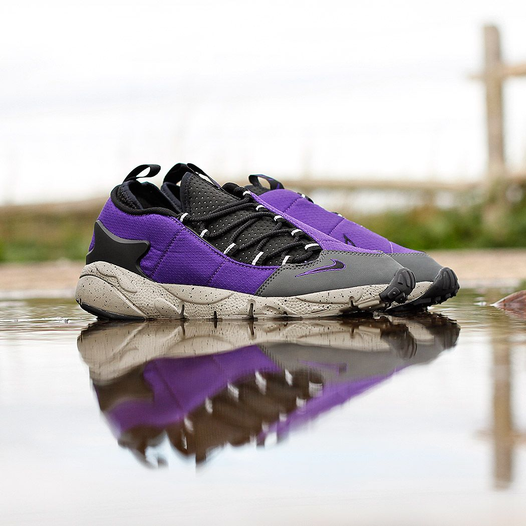 quality design e80c5 3deca Nike Air Footscape NM Shoes in Court PurpleBlack at Urban Industry