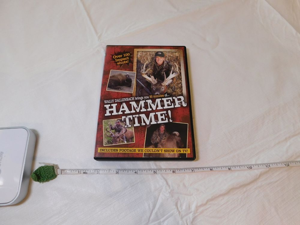 Hammer Time! Impact shots hunting DVD footage not shown on