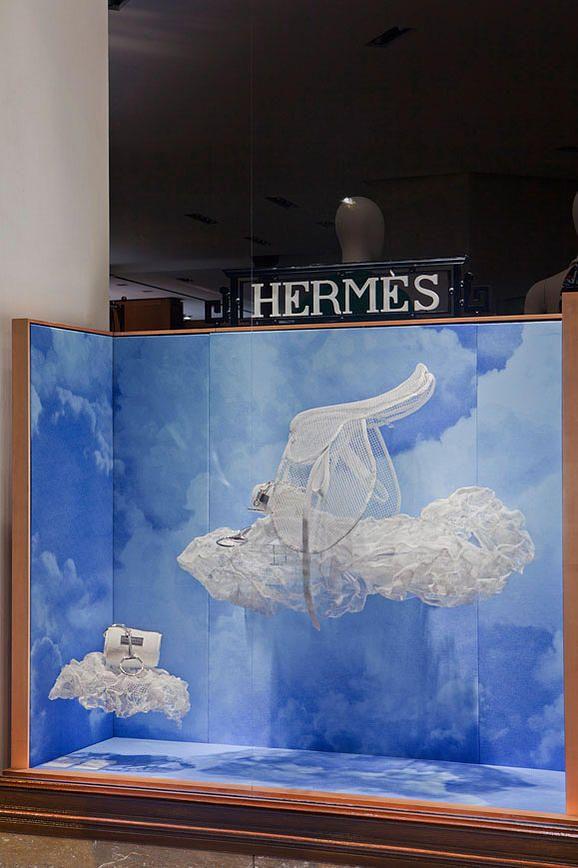 5b37d34c80f Vitrine Hermès Paris. Hermès windows Paris. Designed by Joséphine Pinton.  Photo Patrick Burban.