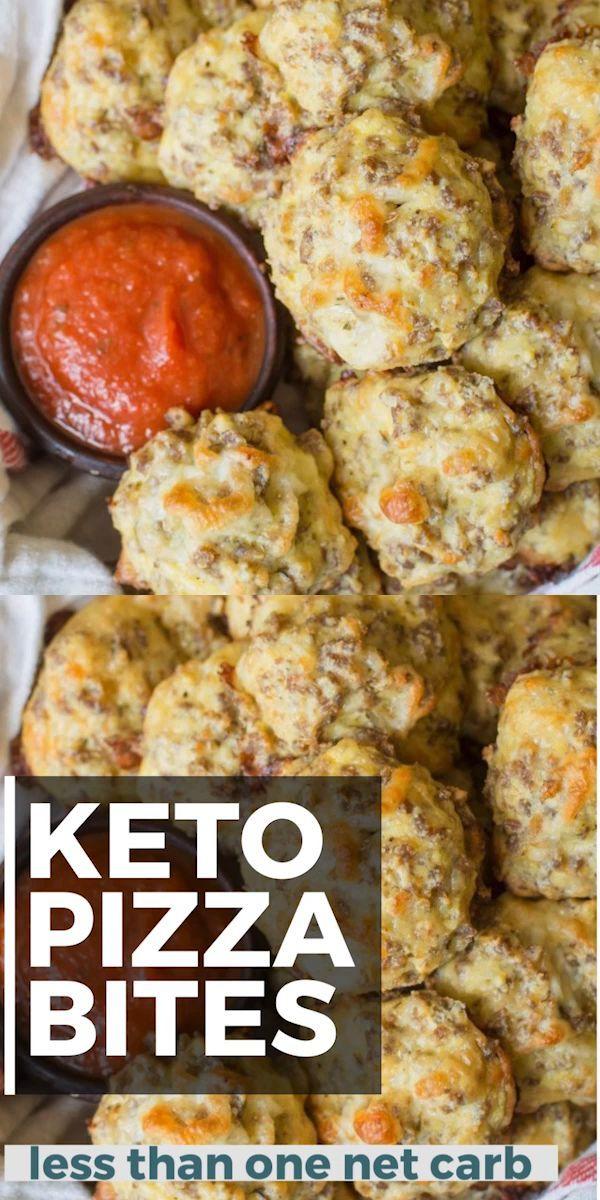 Keto Pizza Bites Keto Pizza Bites -
