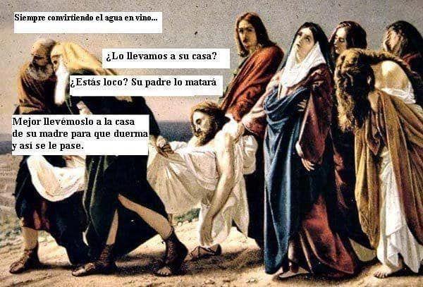 Esa Vez Que Secuestraron A Jesus Spanish Humor Memes Humor