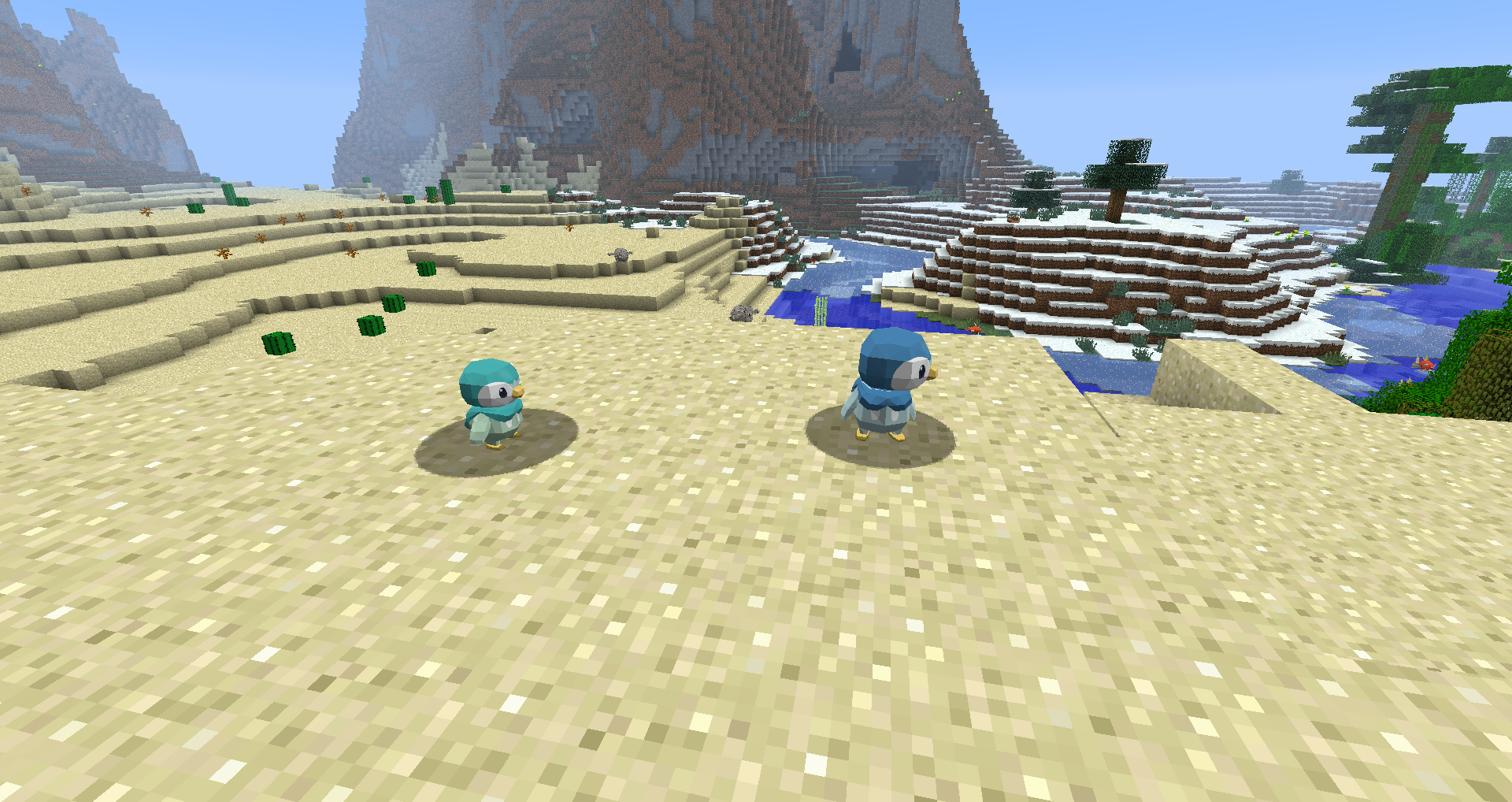 Piplup | Pixelmon mod stuff! <3 | Minecraft mods, Cool minecraft