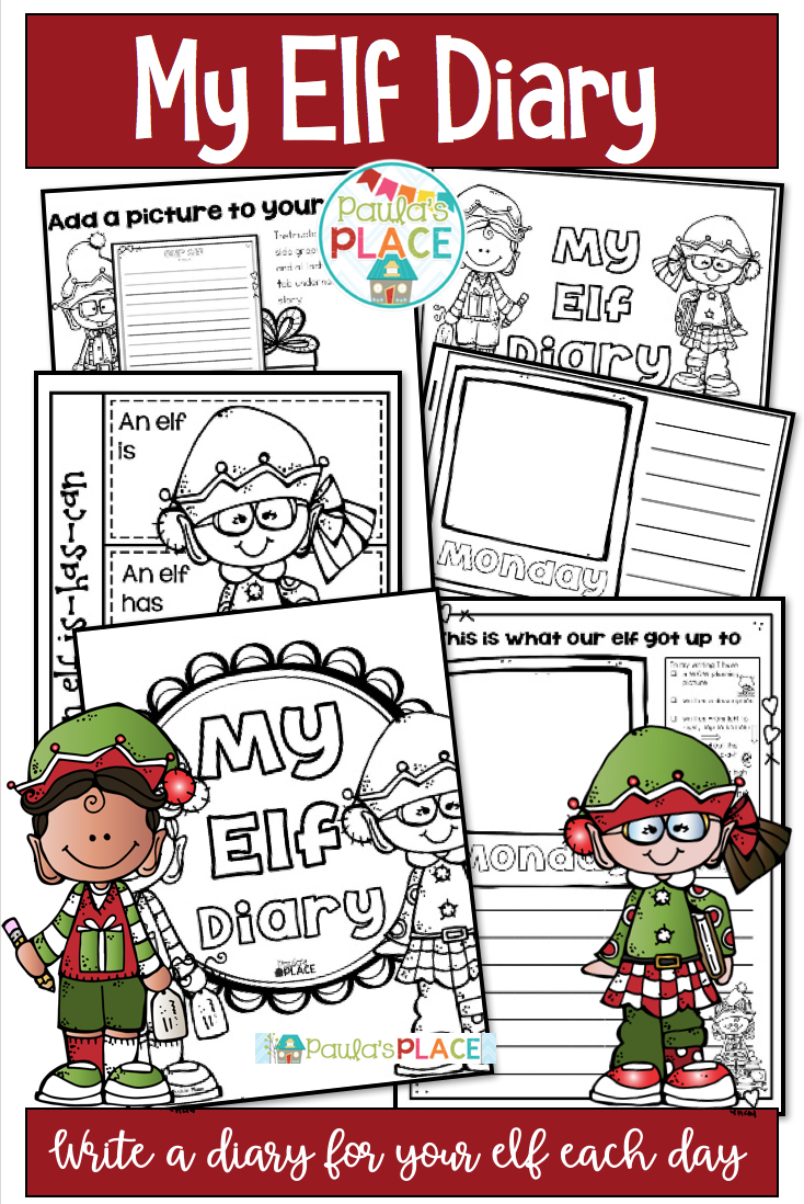 Elf Diary | Christmas writing, Guided reading activities ...