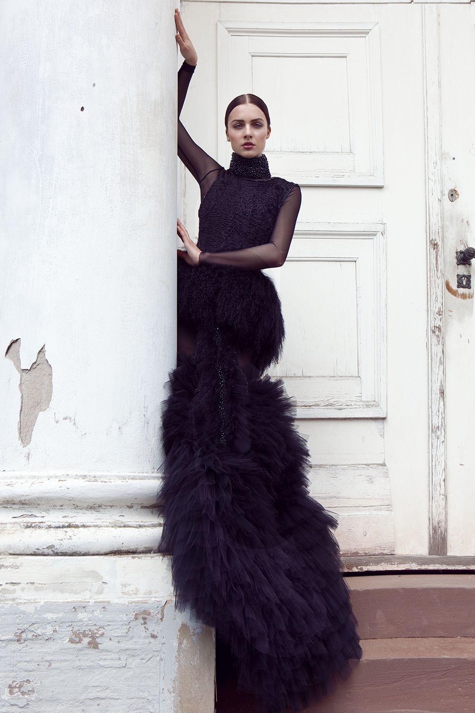 Long sleeve black wedding dresses  Full Series bitmZdoxQ Photographer Elena Oborski