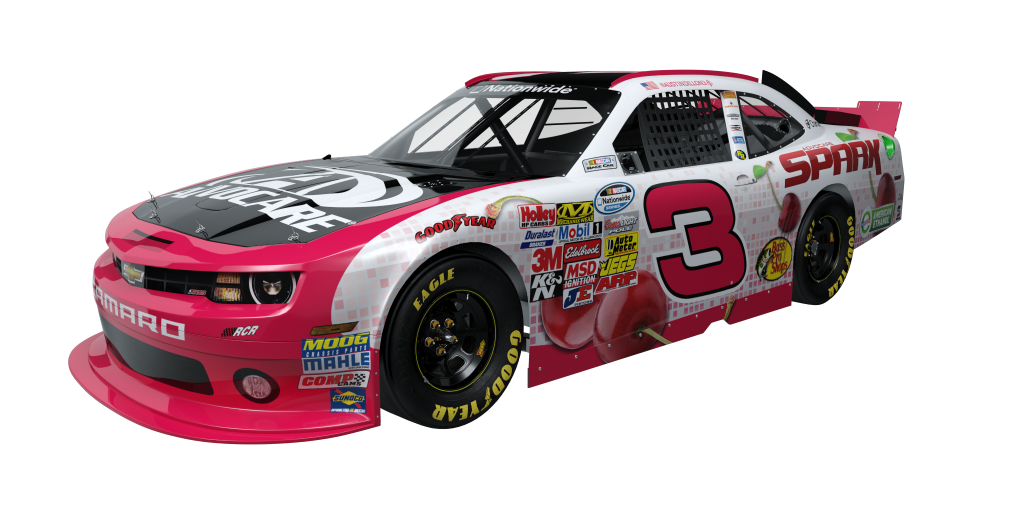 Watch For The Cherry 3 Car This Sunday At The Advocare