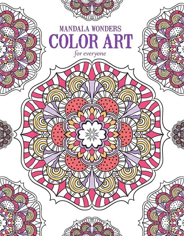 Mandala Wonders Color Art for Everyone Stress relief Adult