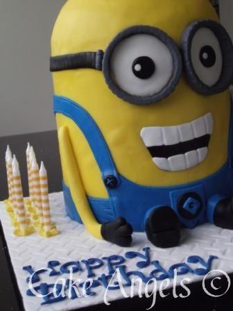 Kevin the Minion Birthday Cake Birthday Party Pinterest Birthdays