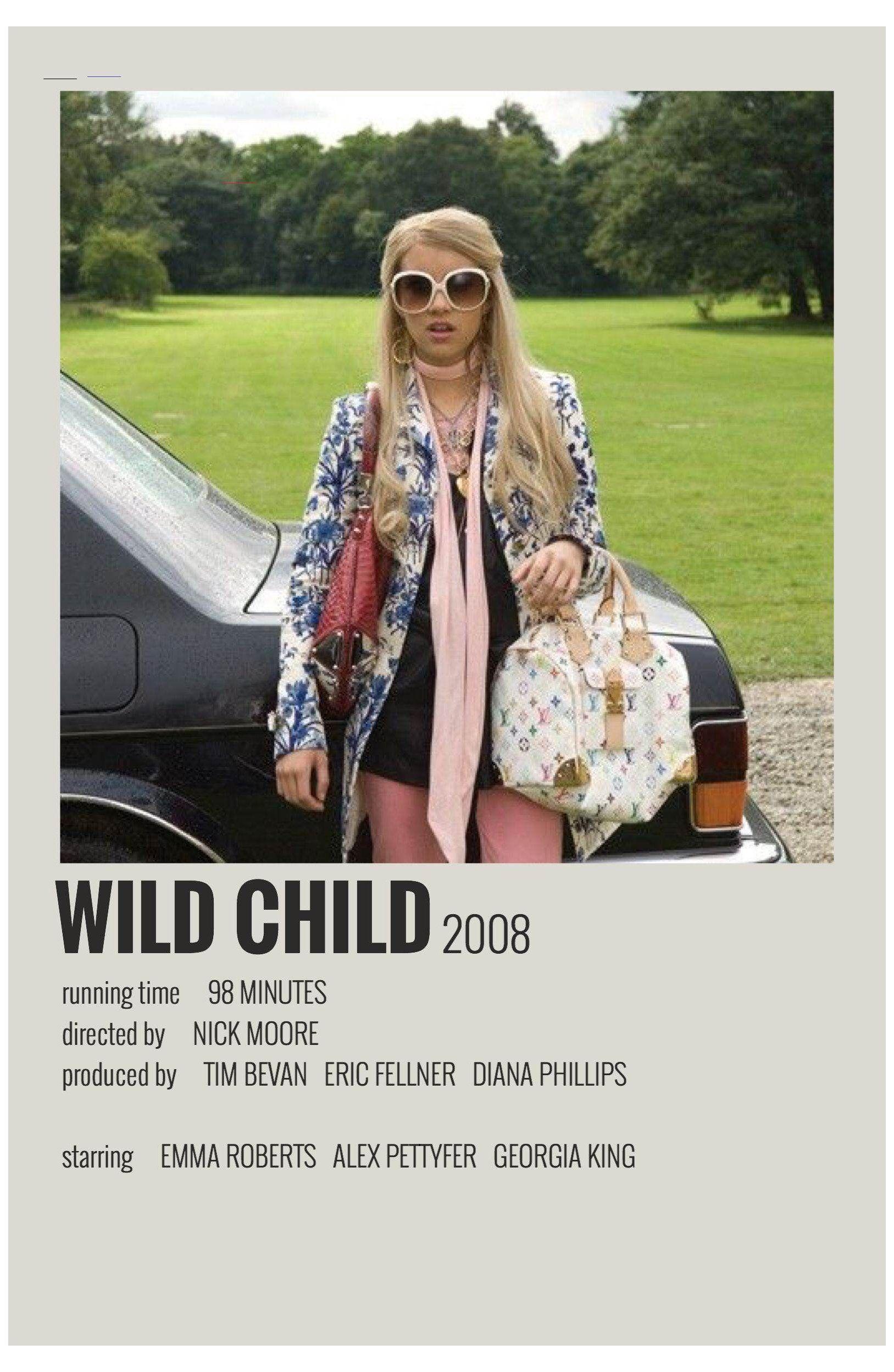 alternative movie posters wild child