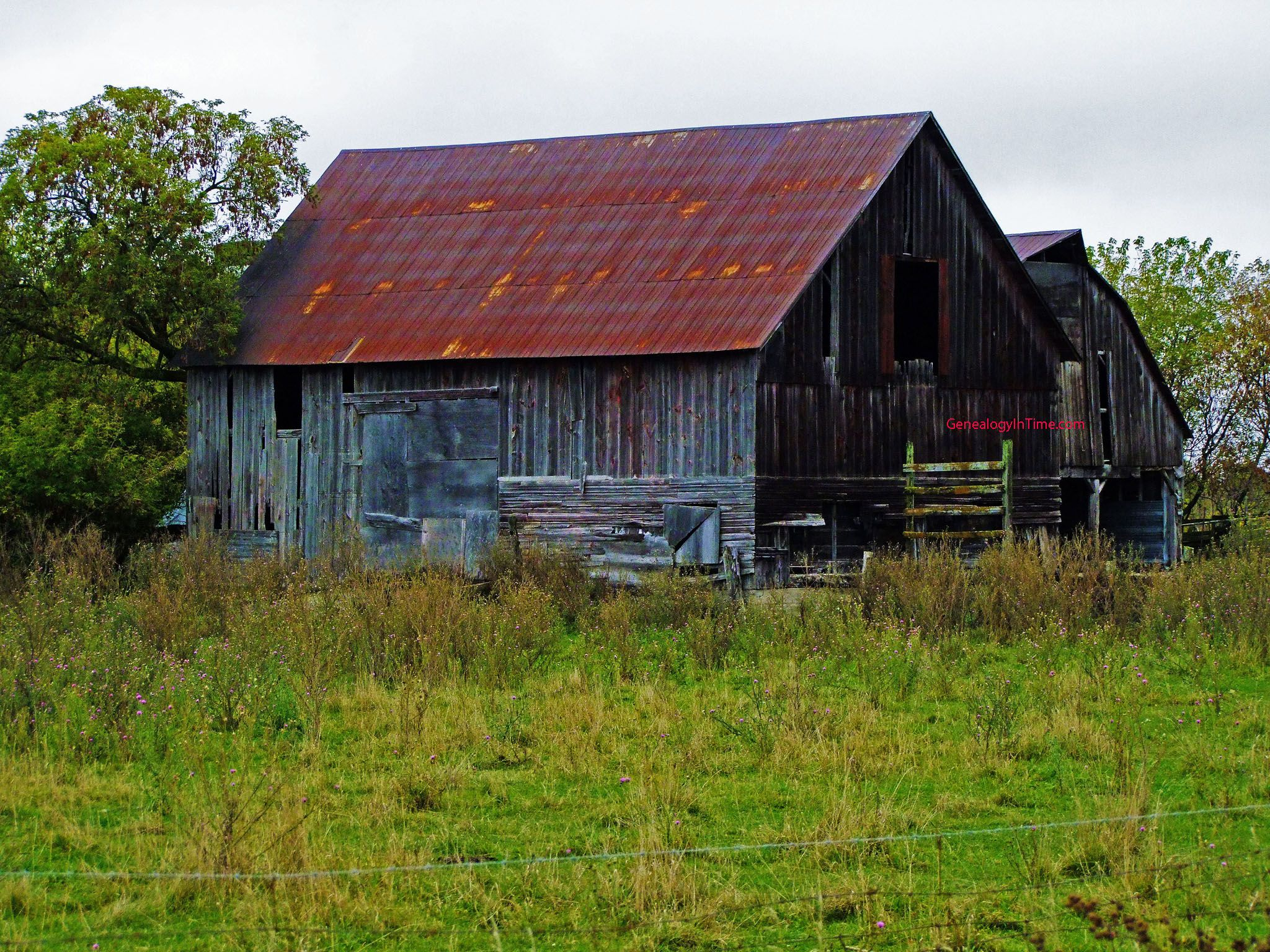 Farm Barn Background