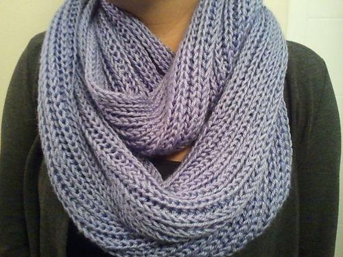 Free Pattern ** Ravelry: Brioche Infinity Scarf pattern | Knitting ...